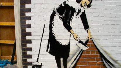 Bansky, street art nella scuola